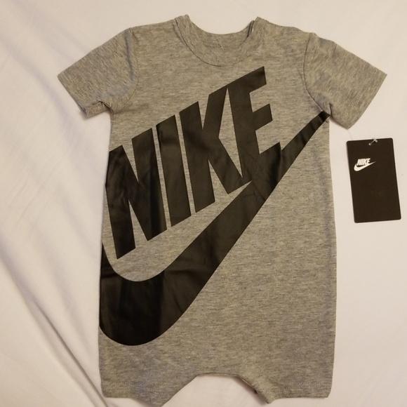Nike Other - Nike Swoosh 6/9 mos. onesie bodysuit